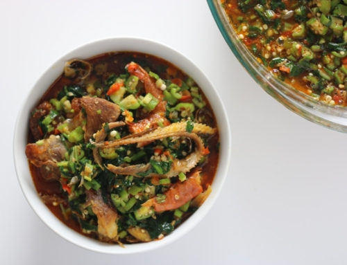 Okro Soup with Vegetables