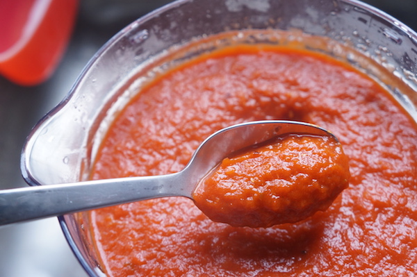 Nigerian - stew - base - ata - lilo - pepper - tomato - stew - mix - easy - no - boiling - oven - perfect - color - red - texture
