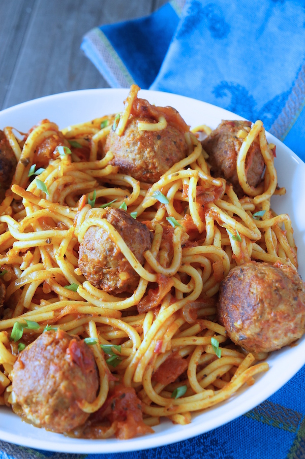 Spaghetti and meatballs spaghetti meatballs 9jafoodie naijafoodie recipe easy nigerian food forumfinder Image collections