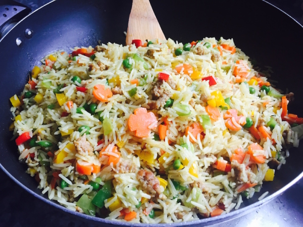 The perfect nigerian fried rice best nigerian fried rice recipe minced meat ccuart Choice Image